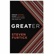 NEW Greater by Steven Furtick Hardcover Book (English) Free Shipping