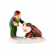 Department 56 Snow Village - DOG FOR THE DOG - New 2016 FREE SHIPPING