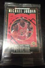 1996 Upper Deck Predictor Set Michael Jordan 10 Cards Unopened NBA