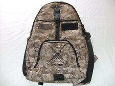 USMC MARINES INFANTRY BACKPACK DAY PACK BOOK  BAG DESERT CAMO EMBROIDERED