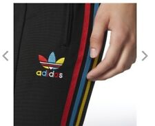 Women's Adidas Brazil Track Suit Pants Colorful Stripe S NWT Sold Out!!!!!
