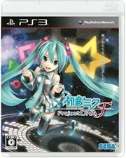 UESD PS3 SEGA Hatsune MIKU Project DIVA F PlayStation 3 Free Shipping Japan