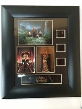 WALT DISNEY ALICE IN WONDERLAND LTD EDITION FRAMED FILM CELL TRIO ( 11' X 13' )
