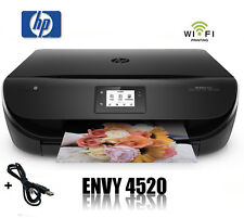 HP ENVY 4520 MULTIFUNKTIONS WIFI DRUCKER SCANNER KOPIERER AIRPRINT * NEU