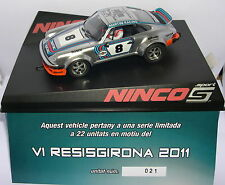 NINCO PORSCHE 934  VI RESISGIRONA 2011  OFF.DRIVERS    LTED.EDITION  22 UNITS MB