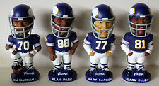 "Minnesota Vikings ""Purple People Eaters"" Bobblehead Set 7 1/4"" (ALL NEW IN BOX)"