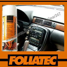 Foliatec Car Interior Dashboard Door Plastic Vinyl Gloss Black Spray Paint 400ml