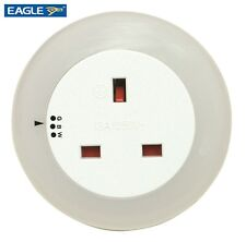 LED Plug In 3 Colour Changing Nightlight Lamp Light Socket Dusk To Dawn Mode