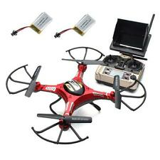 TOY JJRC H8D RC Quadcopter Drone 5.8G FPV HD Camera+Monitor+2 Battery Xmas Gift