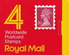 GB GREAT BRITAIN 1987 £1.04 (4 x 26p) BARCODE BOOKLET GE1