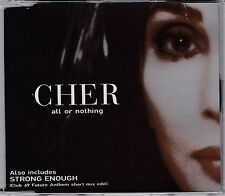 Cher - All Or Nothing **1999 Australian 6 Track CD Single**VG Cond.
