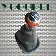 For 1998-2004 VW Passat B5 B5.5 5-Speed Leatherette Gear Shift Knob Gaitor Boot