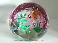 William Manson Upright Butterfly Paperweight 3/10