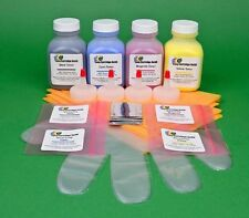 HP 126A CP1025 CP1020 CP1025NW 4-Color Toner Refill Kit with Chips
