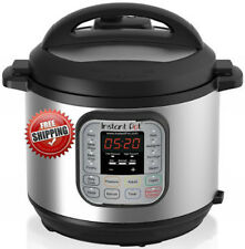 Instant Pot 7 in 1 Programmable Pressure Cooker Stainless Steel New Free Ship