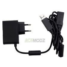 Black Supply Cable Cord Custom USB AC Adapter Power for Xbox 360 Kinect Sensor
