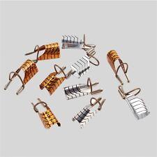 5pcs Reusable Nail Care Aluminum Prop Guide Forms Extension Tool Finger Rest HR