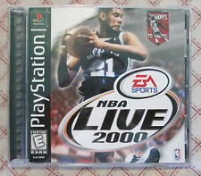 Play Station PS1 NBA Live 2000