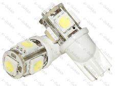 5 SMD LED T10 PARKING INDICATOR LIGHT CAR BIKE- WHITE- 2PC