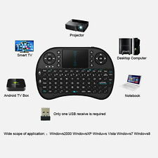 Mini Wireless Keyboard 2.4G w/ Touchpad Handheld Keyboard for PC Android TV BE