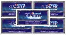 CREST 3D Advanced Vivid Whitestrips Teeth White Strips Dental - 10 stripes