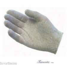 COTTON WHITE LISLE INSPECTION LADIES GLOVES 2 DZ PAIRS