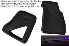 PURPLE STITCH DASHBOARD SIDE TRIM COVERS FITS LAND ROVER DEFENDER 90 110 83-06