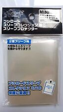 Bushiroad Mini Oversleeve -CLEAR- Small Character Card Over Sleeve Protect Guard