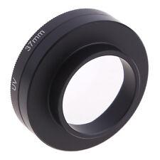 H-Quality 37mm Filter Adapter Universal + UV Lens + Cap for Gopro Hero3+ / Hero3
