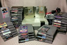 NES Console Game Lot- 38 Games Metroid Zelda Link Ghosts N Goblins Punch Out 4D