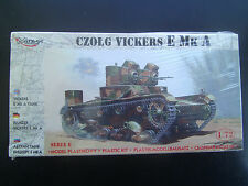 1/72 scale WWII Russian Czolg Vickers E Mk A  Series 6