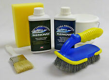 "Renovo Boat Marine Canvas Cleaner and Ultra Proofer ""KIT""  2 x 500ml."