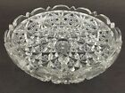American Brilliant Cut Glass Crystal Bowl Nappy ABP Antique Unsigned