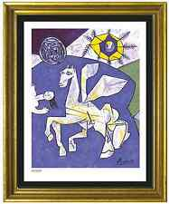 "Pablo Picasso Signed/Hand-Numbered Ltd Ed ""Temple Peace""  Litho Print (unframed)"