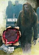 The Walking Dead 5 temporada Disfraz reliquia tarjeta Walker (D)