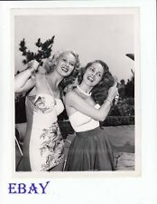 Adele Jergens sexy, Janet Leigh VINTAGE Photo circa 1949