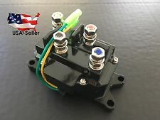 12V Solenoid Relay Contactor Winch Rocker Switch Thumb Truck ATV UTV Universal