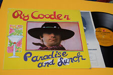 RY CODER LP PARADISE AND LUNCH 1°ST ORIG USA 1974 EX ! TOP AUDIOFILI