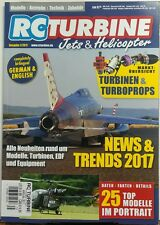 RC Turbine Jets & Helicopter UK 2017 Annual News & Trends FREE SHIPPING sb