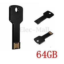 Black Key Design 64GB 64G USB 2.0 Flash Memory Drive Storage Thumb Pen U Stick