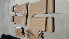 BMW E28 528I 535I SPORT SEAT KIT NATURAL GERMAN VINYL UPHOLSTERY KITS  NEW