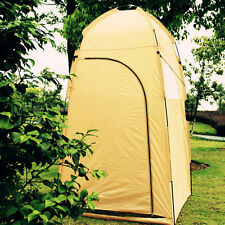 Portable Pop UP Outdoor Camping Bathing Shower Toilet Changing Tent Yellow US EK