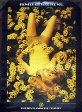 1969 Flower Power Poster - Flowers Are Good For You FTD Girl