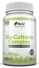 Nu U Probiotics 180 Capsules 10 Billion Forming CFU's yeast infections