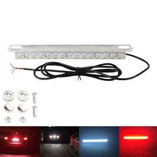 12V 12W Waterproof Car LED White /Red Light Reversing Brake Stop Park Light Lamp