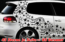 85 Estrella Pegatinas De Coches Kit Tuning Fee Stylin ' pared tribel l
