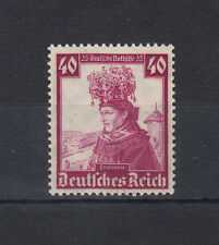 4046) Third Empire, Nazi Empire German Empire 1933 - 40 Pf.  National Costumes