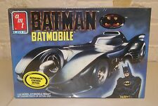 VINTAGE Sealed AMT ERTL BATMAN BATMOBILE MODEL KIT #6877 1989 1/25 scale NISB