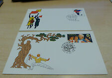 PRC  China 1982 JF1 JF2  Namibia Day &  World Assembly  Stamped Envelope CTO