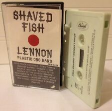 John Lennon /Shaved Fish Cassette1975 Plastic Ono Band /Beatles Classic Rock